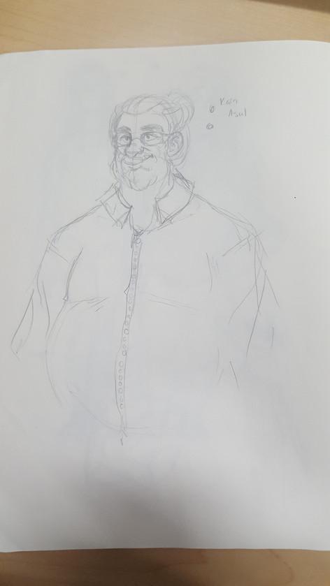 Kain Asul