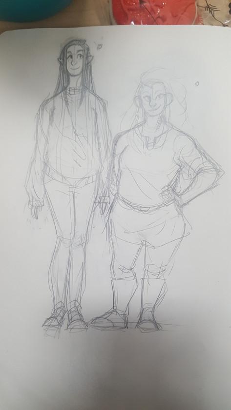 Frigga and Percila