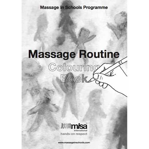 MISP Massage Routine Colouring Book (set of 3)