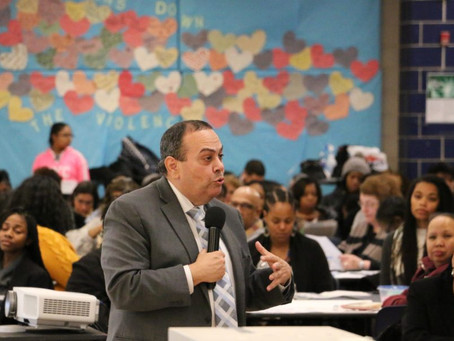 Chalkbeat: Superintendent León calls on Newarkers to help shape his plan for city's schools
