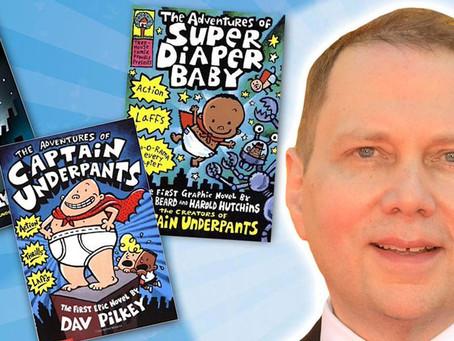 Newark Lit & PHit Fest Host Renowned Children's Book Author, Dav Pilkey