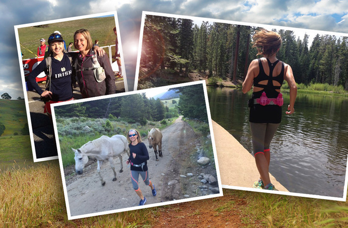 On-air, on pavement, on trails... Racking up the miles with a local TV personality