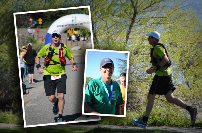 Overcoming obstacles...outrunning diabetes