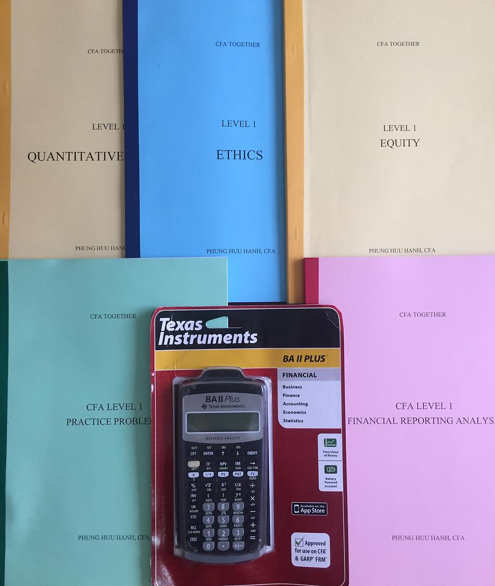 Máy tính tài chính CFA