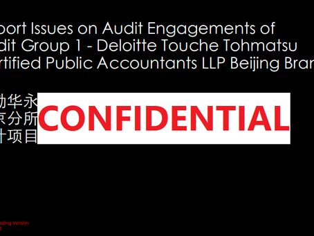 Deloitte và cú whistleblowing