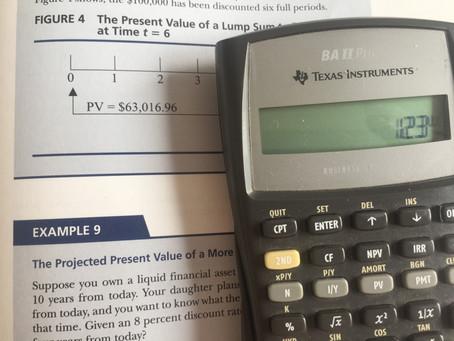 Hướng dẫn sử dụng máy tính tài chính