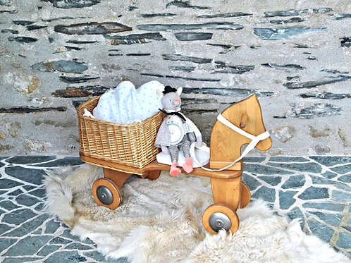 """TRIPORTEUR CHEVAL  """"MOULIN ROTY"""""""