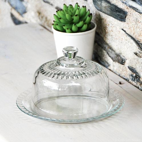 Petite cloche en verre - Gris Groseille boutique cuisine et art de la table Angers 49