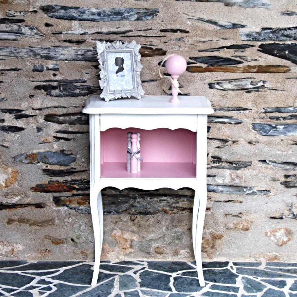 Blanc RoseGris Louis Et Shop Xv Chevet Groseille IYyvfgb6m7