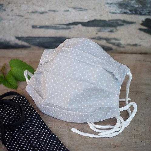 Masque en tissu AFNOR - Gris Groseille boutique Zéro Dechet Angers 49