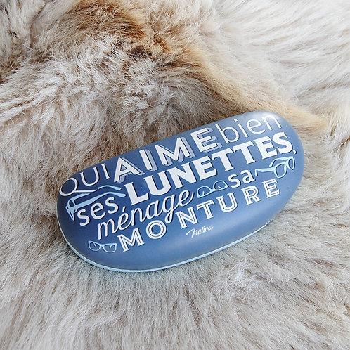 """ÉTUI À LUNETTES """"MÉNAGER SA MONTURE"""""""