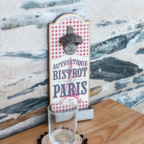 """DÉCAPSULEUR """"BISTROT DE PARIS"""""""