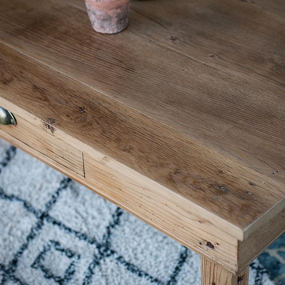 table_basse_ancienne_plateau_chêne_bois