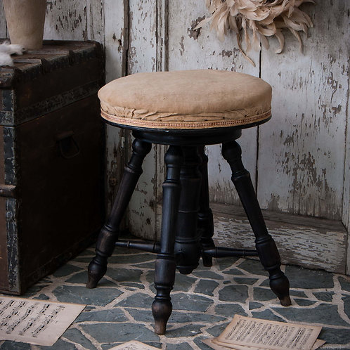 TABOURET DE PIANO ANCIEN