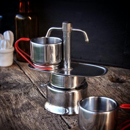Cafetière mini moka express Bialetti - Gris Groseille cuisine art de la table Angers 49