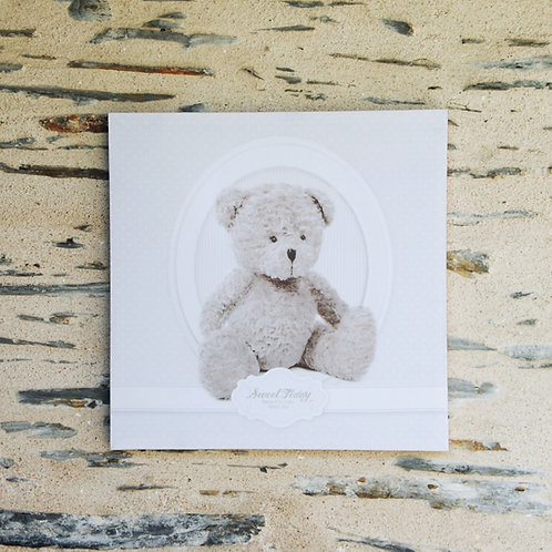 """TOILE OURS """"SWEET TEDDY"""""""