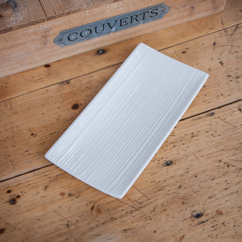 COUPELLE BLANCHE RECTANGULAIRE