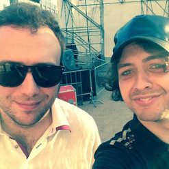 with Raphael Gualazzi