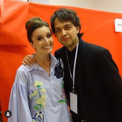 backstage with Carly Paoli