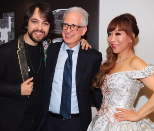 with Federico Failla and Sumi Jo