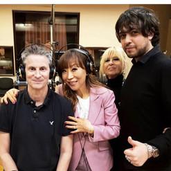 recording with Steven Mercurio and Sumi Jo