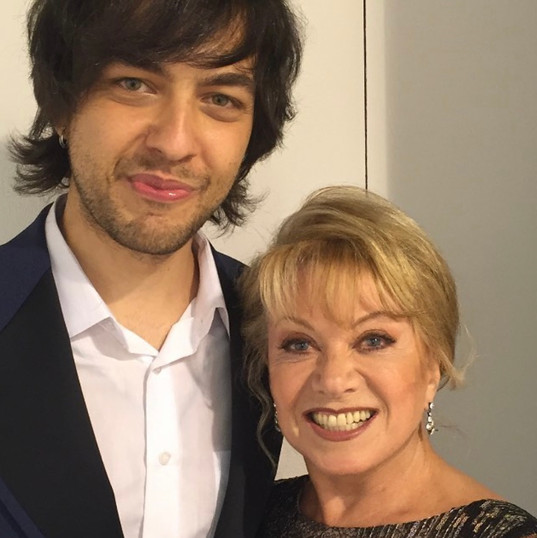 backstage with Elaine Paige