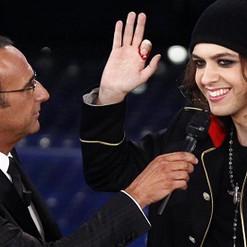 guest at Festival di Sanremo