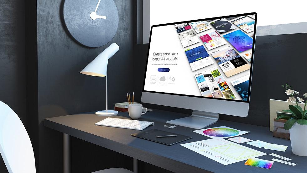 website-builder-workplace-interior-3d-re