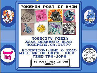 """Gotta Post Them All"" Pokémon Tribute Show"