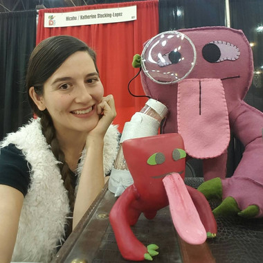 DCon15_Katie at Booth.jpg