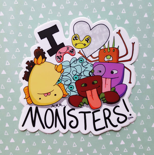 I (heart) MMM...Monsters!