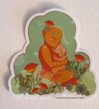 Sticker: Desert Goddess