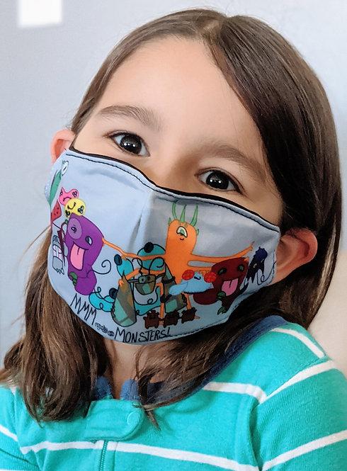 "Kid's Face Mask - ""Better Together"""