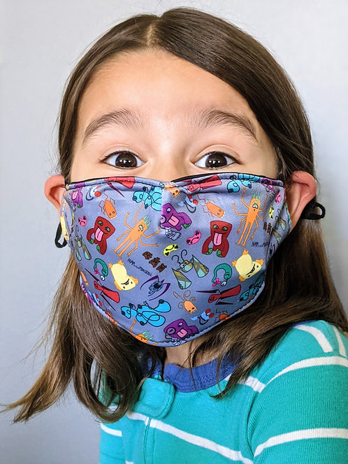 "Kid's Face Mask - ""Kindness Like Confetti"""