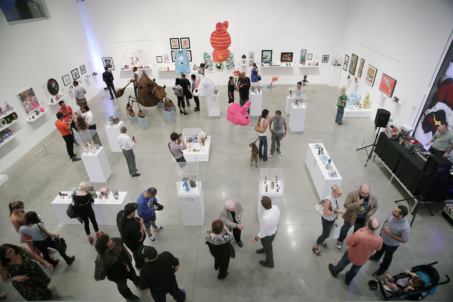 Art of Toys Main Gallery - Photo by EMS