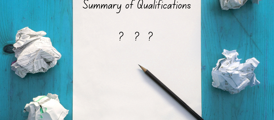 Improve the Summary of Qualifications on your resume