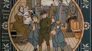 """FUNDSTÜCK """"ABROAD"""" REISEPOESIE, 1882"""