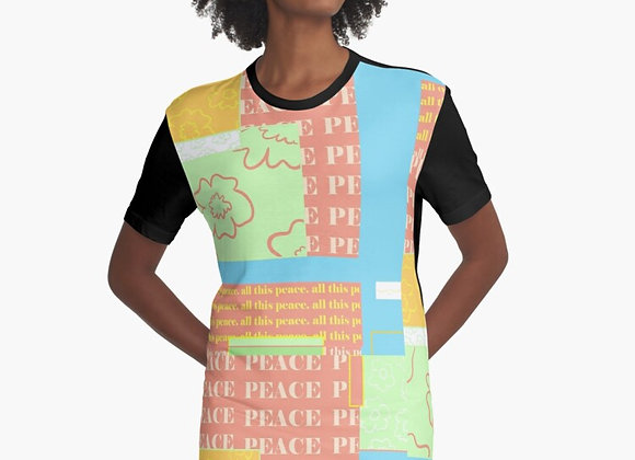 """All This Peace"" T-Shirt Dress"