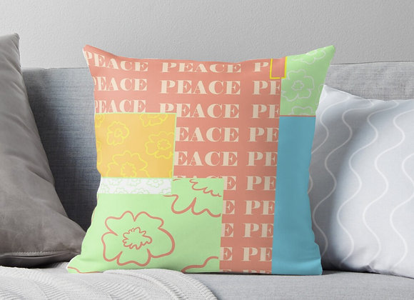 """All This Peace"" Throw Pillow"