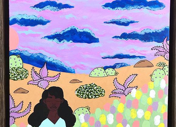 """Prickly Road to Peace"" #10 Original"
