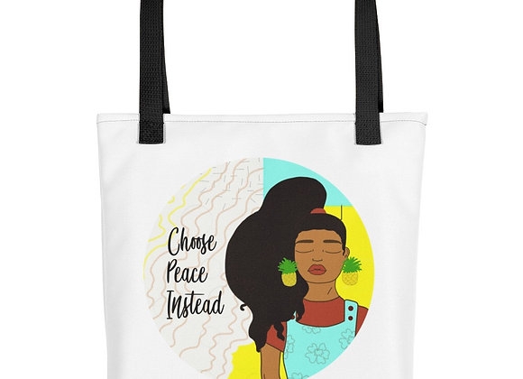 """Choose Peace Instead"" Summer Tote"