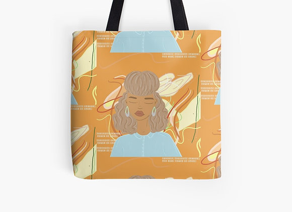 """""""Peace After Midnight"""" Tote Bag"""
