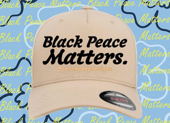 """Black Peace Matters"" FlexFit Cap"