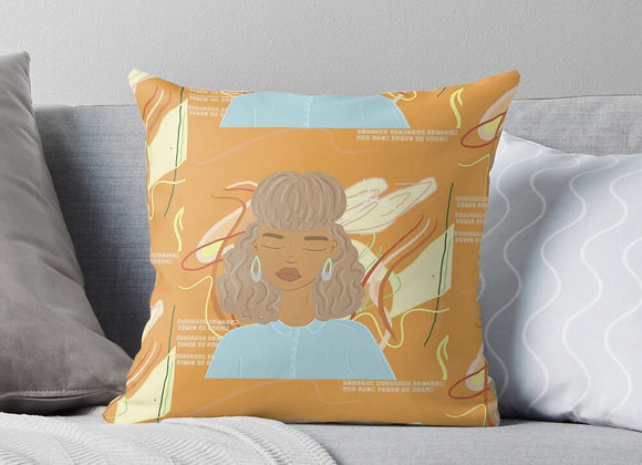 """Peace After Midnight"" Throw Pillow"