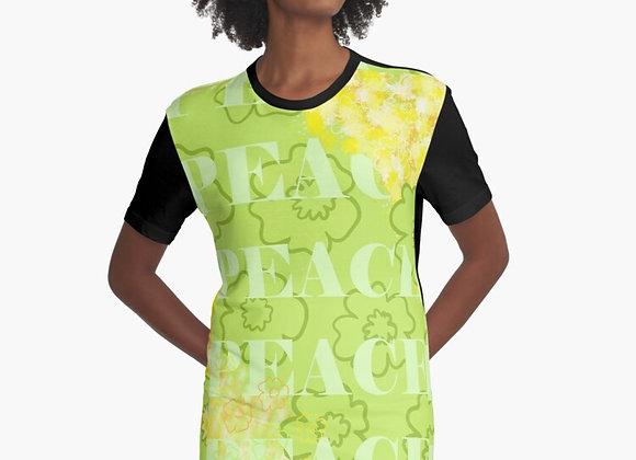 """Spring into Peace"" T-Shirt Dress"