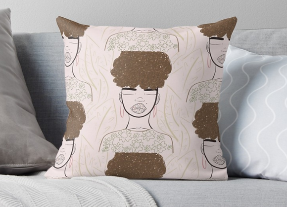 """""""May You Have Peace"""" Throw Pillow"""