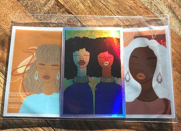 Black Peace Matters Sticker Mix #1