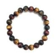 Multi-Gemstone Beaded Bracelet