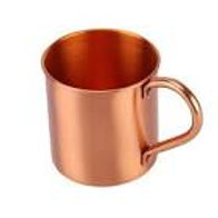 100% Solid Copper Cup