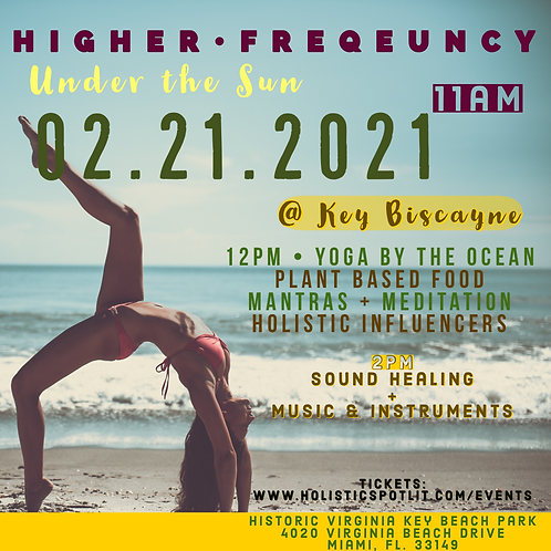 "Higher Frequency ""Under the Sun"" Pop-Up event @ Key Biscayne"